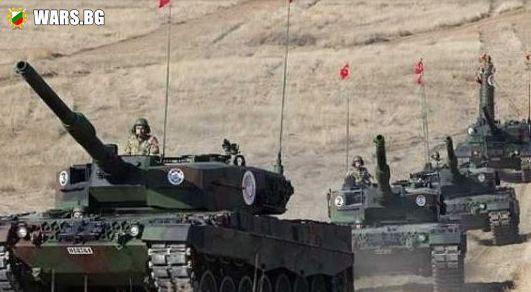 Гореща точка! Турция трупа бойна техника по границата със Сирия