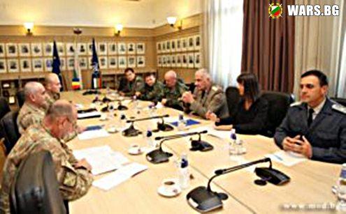 Началникът на отбраната генерал Андрей Боцев: Военното сътрудничество между България и Румъния е добре балансирано и се развива успешно