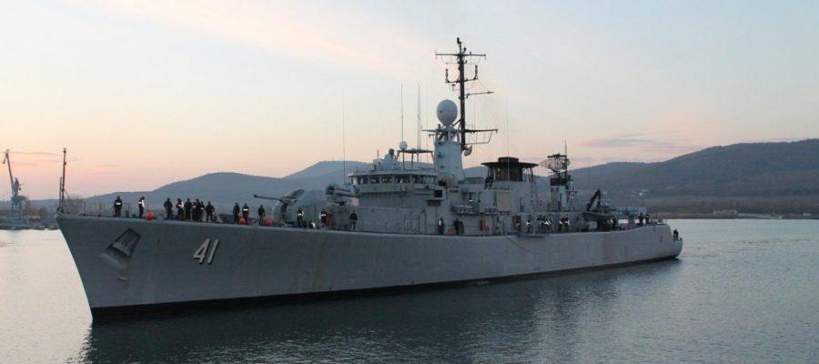 """13 години фрегата """"Дръзки"""" служи в състава на Военноморските сили"""