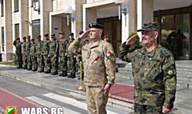 Среща на командирите на Сухопътните войски на България и Румъния