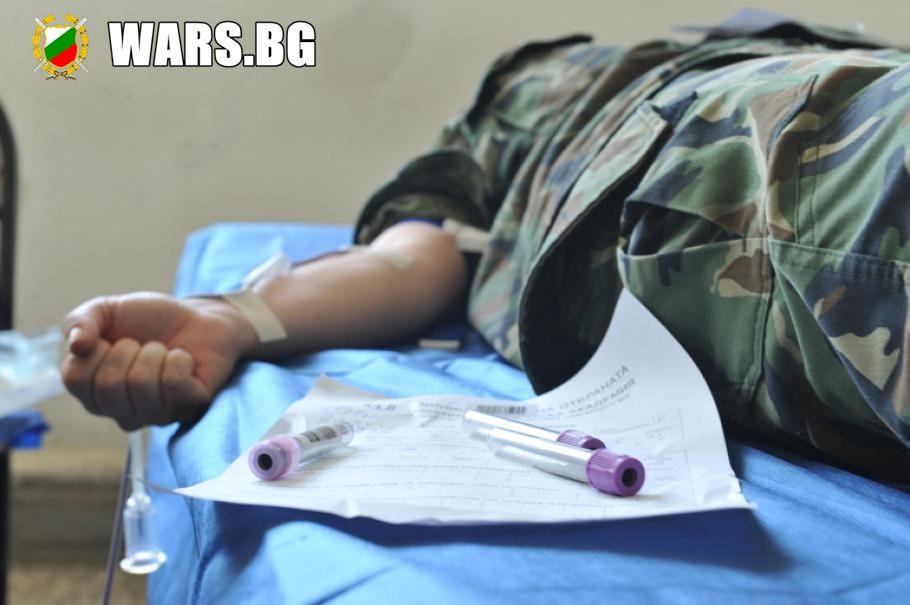 За 9 месеца: 2000 военнослужещи са дарили кръв в акции на ВМА