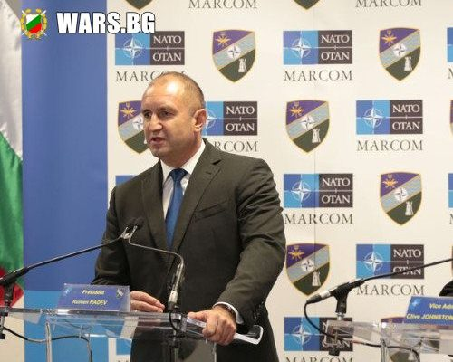 Румен Радев: Военноморските сили на НАТО сериозно се подготвят срещу заплаха по море