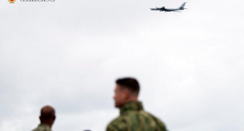 Руски Ту-142 прелетя на ниска височина над кораби на НАТО