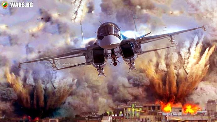 """Защо терористите в Сирия """"треперят от страх"""", когато се спомене руската авиобомба КАБ-1500?"""