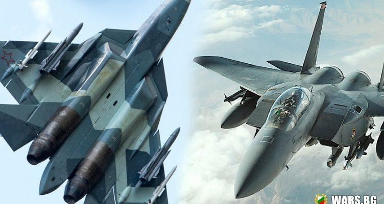 """Американски експерти: """"Железният ни орел"""" трудно може да излезе победител от сблъсък със Су-57"""