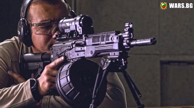 """Руските спецназ получават картечница РПК-16 от концерн """"Калашников"""""""