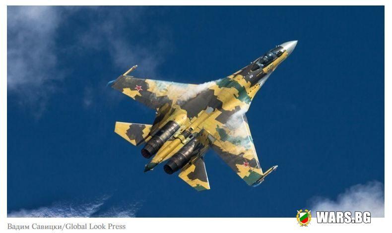 Изтребителите четвърто поколение Су-35С