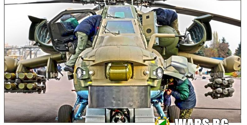 Летящите танкове: Mи-28НM
