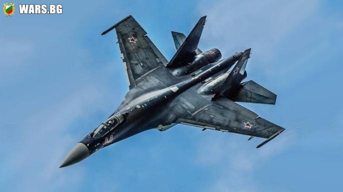 Провежда се последният тест на многоцелевия изтребител Су-35С