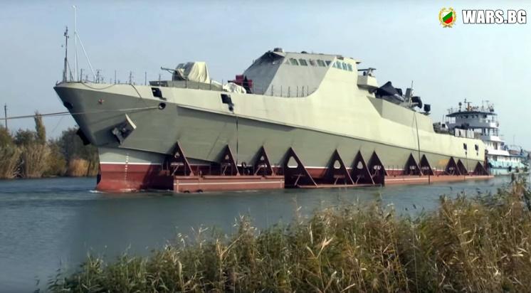 """Американски експерти признаха """"гениалния"""" дизайн на руска корвета"""