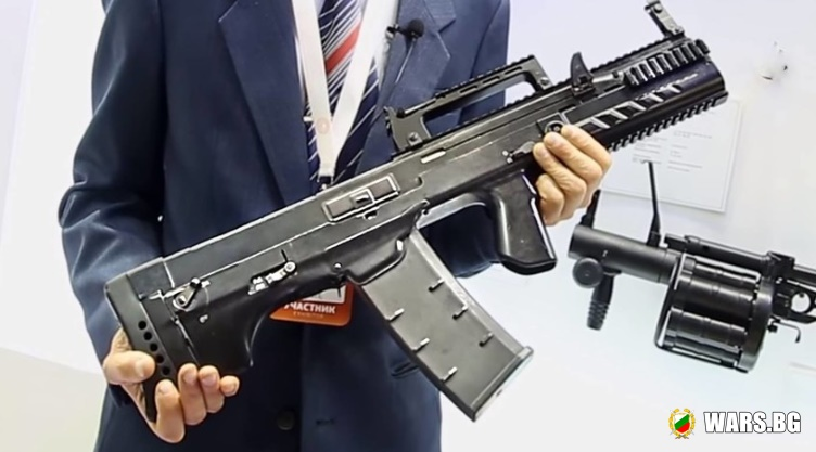 """""""Ростех"""" представи новото чудо на руската военна индустрия: автомат ШАК-12 с 12,7 мм калибър"""
