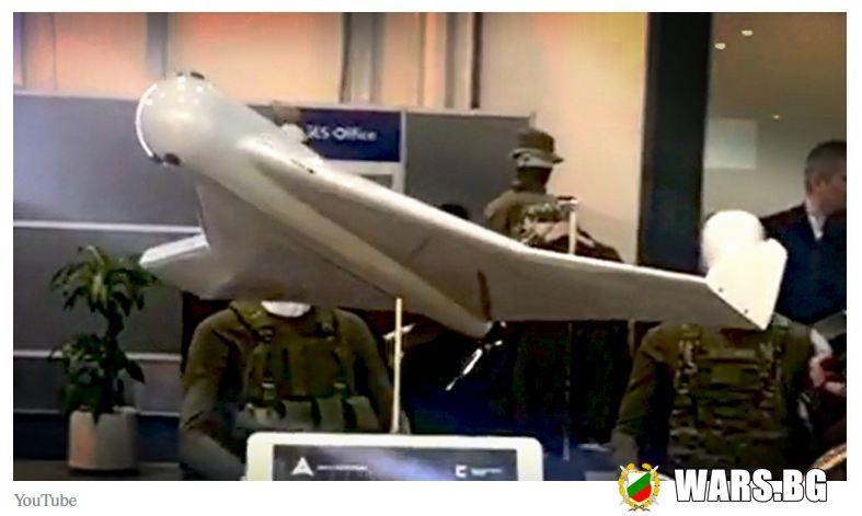"В ОАЕ ""Калашников"" представи свой модел на безпилотния летателен апарат-камикадзе ""Куб"""