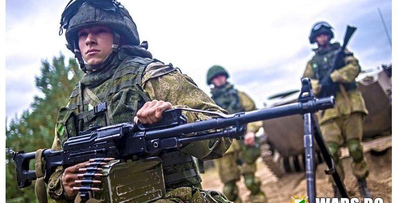 Моторизираните единици на Западния военен окръг тренират бой с дронове-самоубийци