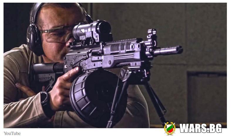 Започнаха финалните тестове на новата картечница РПК-16 в единиците на руската армия