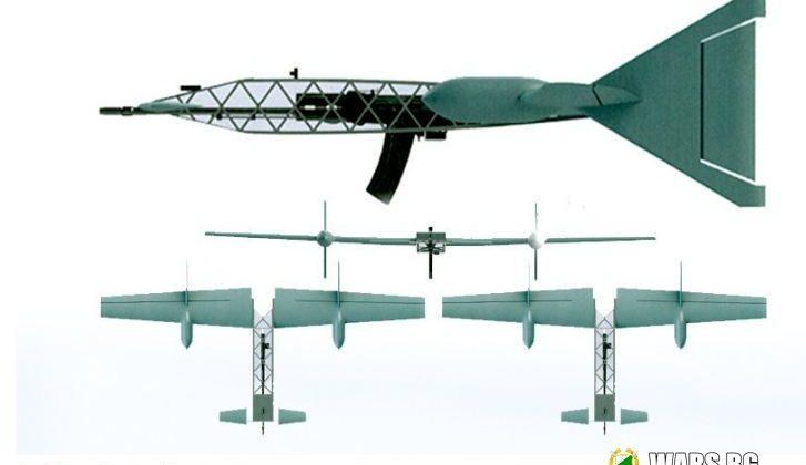 """Мощен """"Вепрь 12 Молот"""" на криле: руснаците проектираха интересна концепция за борба с дронове"""