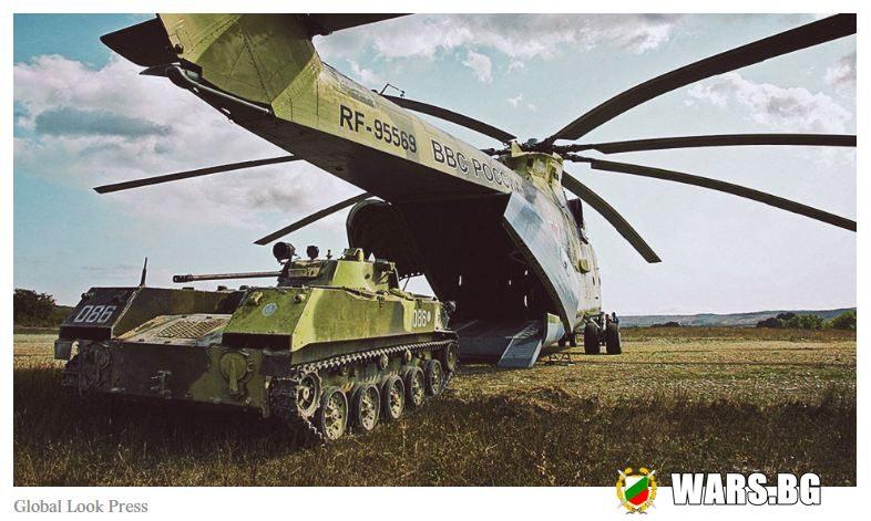 10 факта за гигантския руски хеликоптер, транспортирал замръзнал мамут