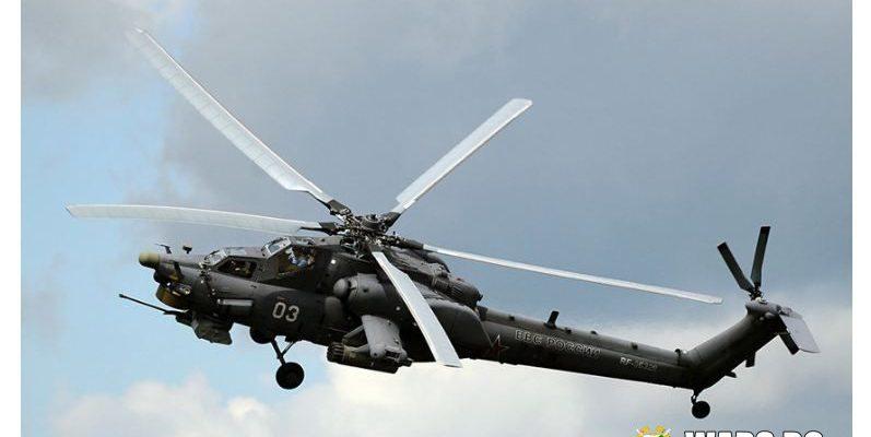 Най-новата версия на руския Ми-28НМ беше заснета на видео в небето над Сирия
