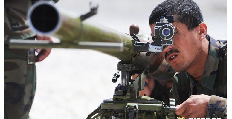 """Смъртоносният съветски гранатомет СПГ-9 """"Копие"""" остава незаменим в борбата срещу джихадистите"""