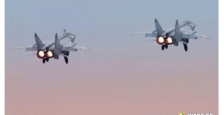 ВИДЕО: Пилоти на МиГ-31 изпълниха нощно дозареждане с гориво в небето над Камчатка