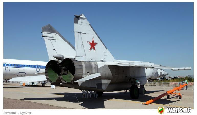 7 неща, които не си знаел за изтребителя МиГ-25