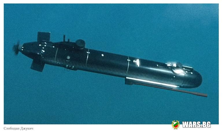 """""""Ростех"""" представи подводен дрон, който ще пази великолепния Кримски мост от терористични атаки"""