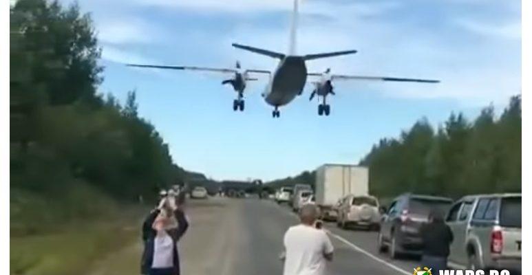 ВИДЕО: Вижте как военни самолети се приземяват на магистрала в Русия