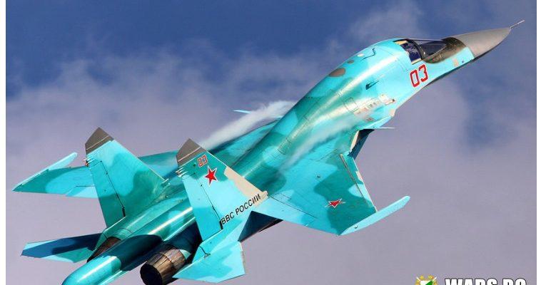 ВИДЕО: Бомбардировач Су-34 изстрелва ракета Х-31 и потапя кораб в Каспийско море