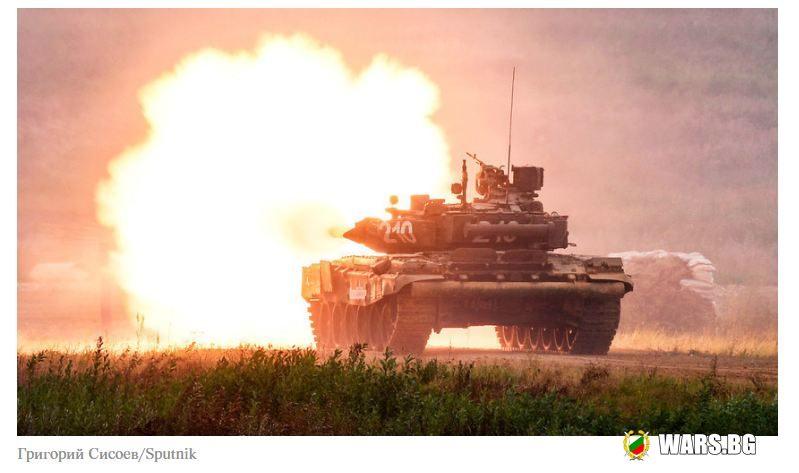 Ирак получи нова партида руски танкове Т-90С