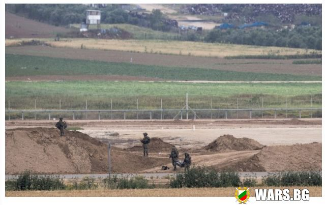 Израел затваря КПП-тата си с Ивицата Газа