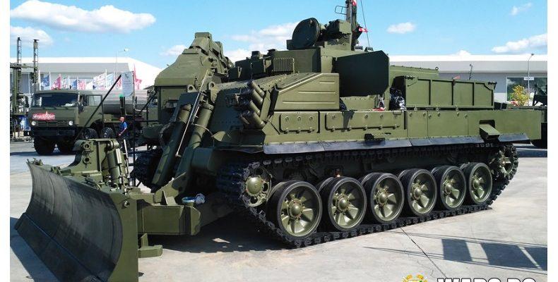 """Първият """"скорпион"""" на руската армия – какво знаем за новата машина за обезвреждане на мини?"""