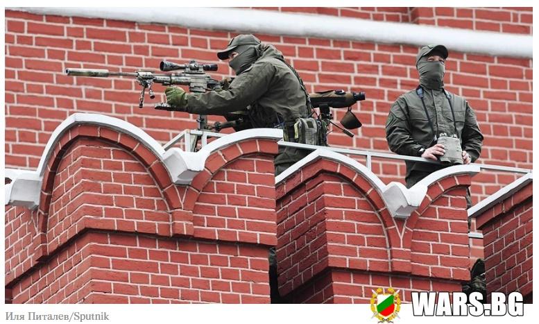 """Каква е тайната на точността на """"кремълската винтовка"""", която охранява Владимир Путин"""