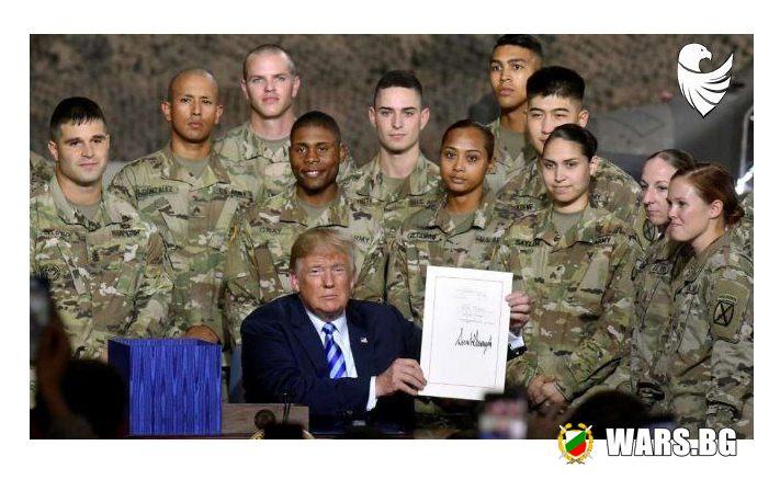 Американската армия харесват Доналд Тръмп