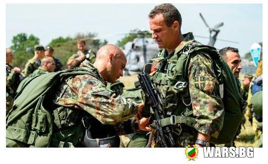 Славянско братство – сбор на десантници от Сърбия и Беларус в Русия