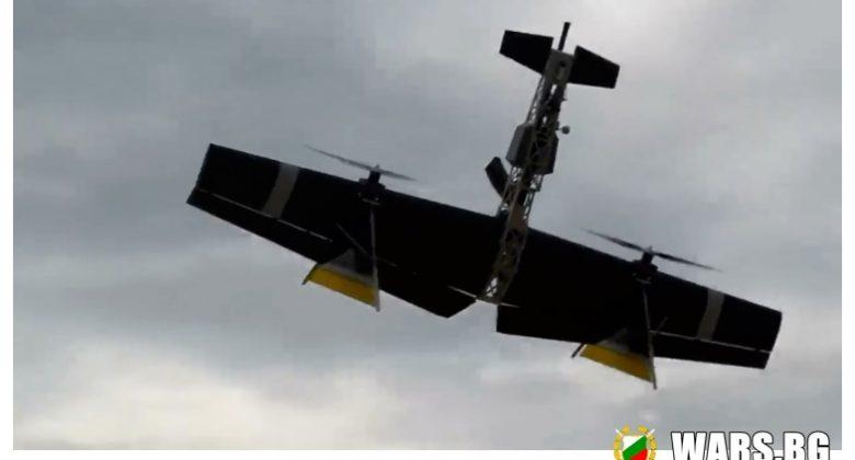 ВИДЕО: Вижте изпитания на летяща карабина за унищожаване на дронове