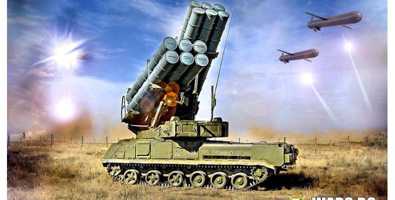 """Прехвърлят новите ракетни ПВО системи 9К317М """"Бук-М3"""" в Сибир"""