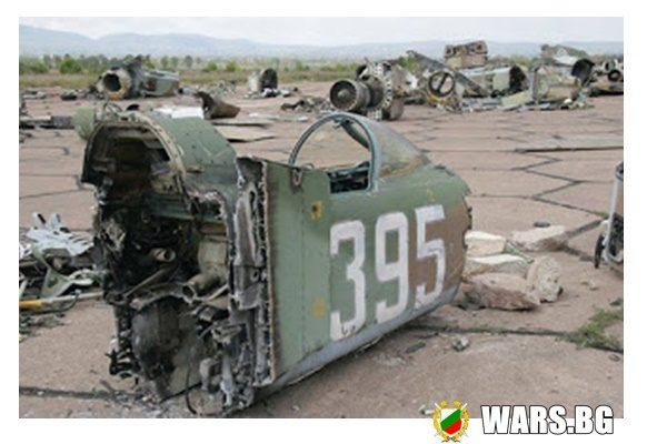 """Последните """"МиГ-23"""" пазили някога небето на България (СНИМКИ)"""