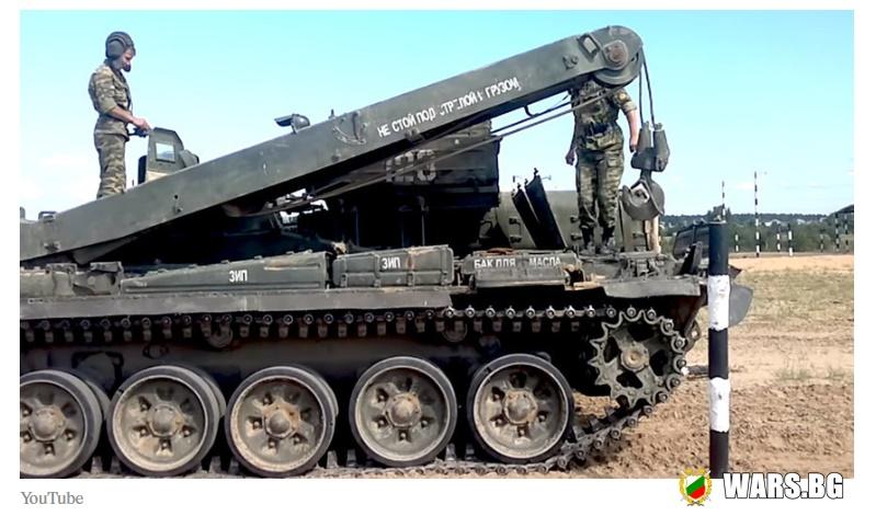 В руската армия поставиха нов рекорд: БРЭМ-80 извози половин танкова войска