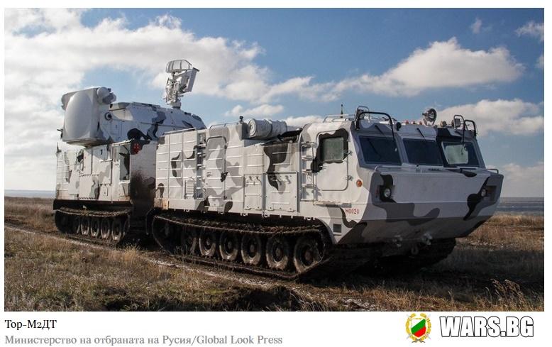 """""""Тор"""" пристигна: Арктическата група на руската армия непрекъснато се укрепва с нови средства за ПВО"""