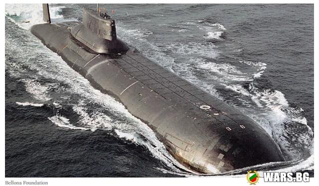 """""""Възкръсването на подводния гигант"""": в САЩ коментираха завръщането на атомния """"Дмитрий Донской"""""""