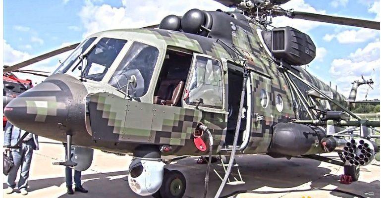 Руската армия си поръча 10 спецхеликоптера Ми-8АМТШ-ВН
