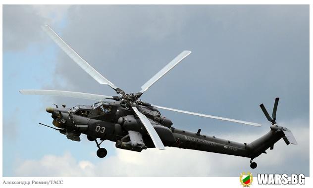 """ВИДЕО: Модернизираният Ми-28 """"Нощен ловец"""" демонстрира нова фигура от висшия пилотаж"""