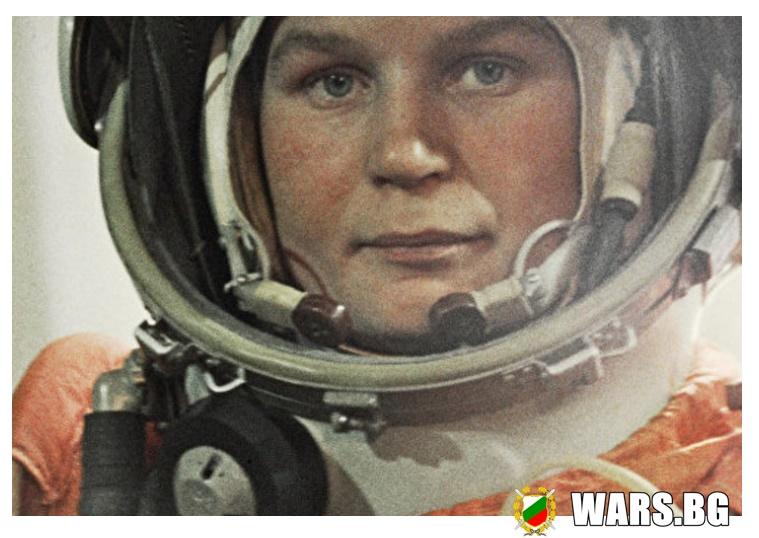 """Първата жена, летяла в Космоса обявена от Британска организация за """"Жена на века""""."""
