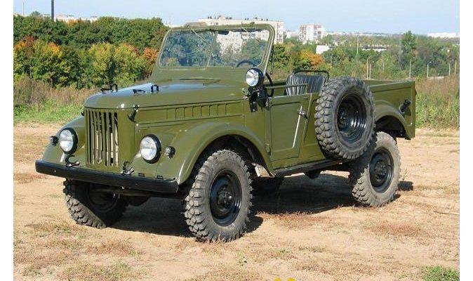 Джип ГАЗ-69: Описание и технически данни