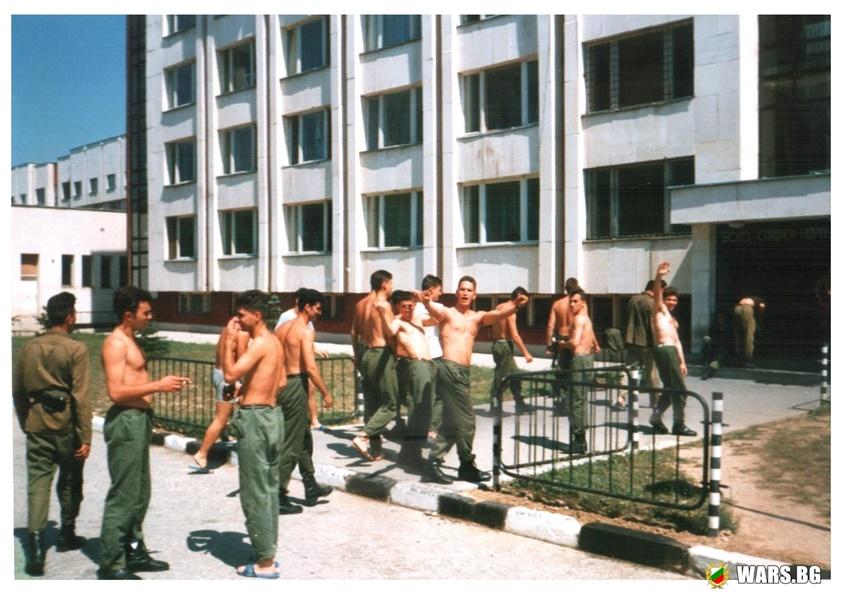 Казармата от едно време и ежедневието на войника там (Статия)