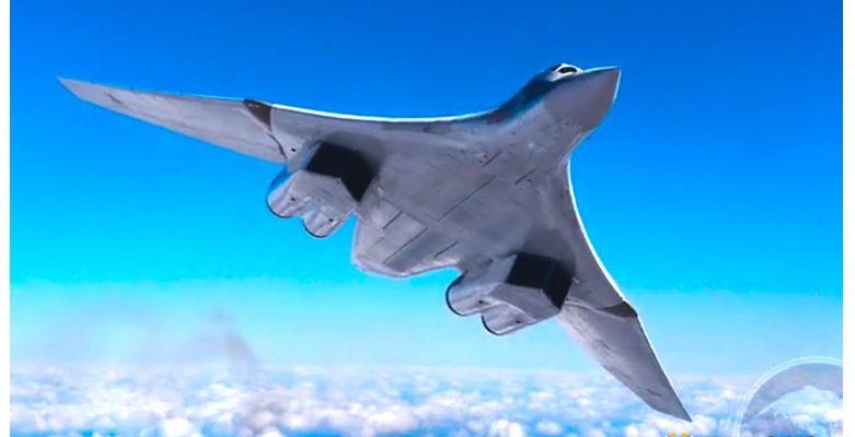 ВИДЕО: Заснеха руския ракетоноец Ту-160 във въздуха