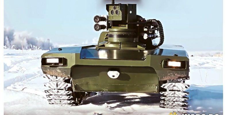 """Руснаците тестваха новия боен робот """"Маркер"""""""