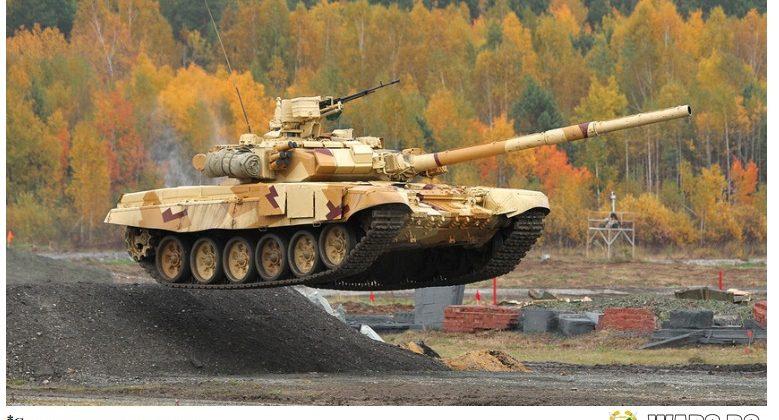 T-90С се превърна в един от най-разпространените съвременни танкове