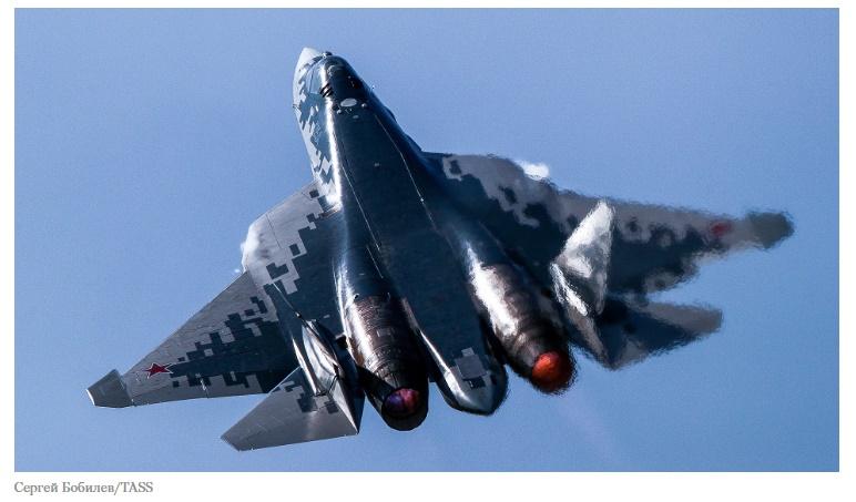 Всичко, което трябва да знаете за руския изтребител Су-57 от пето поколение