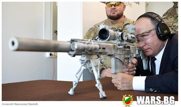 """Смяна на известния """"Драгунов"""": Снайперската пушка на Чукавин влиза в серийно производство през 2021"""
