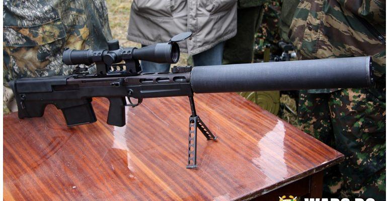 Снайперистите от руската полиция се въоръжиха със свръхмощна винтовка